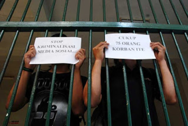 Dipakai untuk Pidanakan Orang Tanpa Bukti, Haris Azhar: Cabut Pasal 27 dan 28 UU ITE