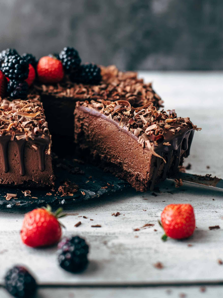THE CHOCOLATE MOUSSE CAKE RECIPE