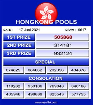 result keluaran hk kamis