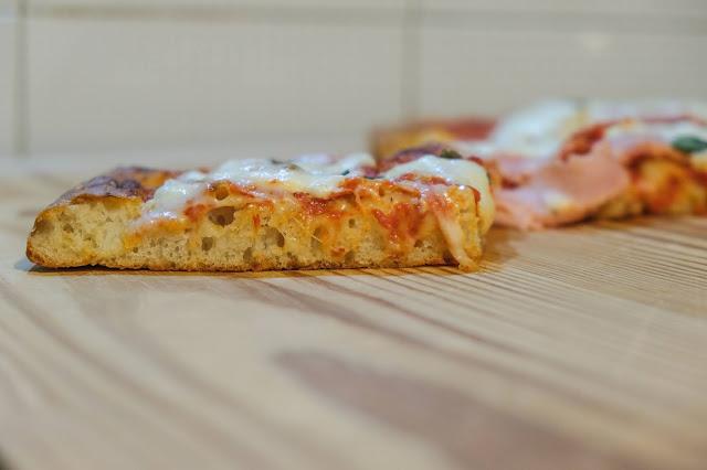Pizza a 24 ore di lievitazione
