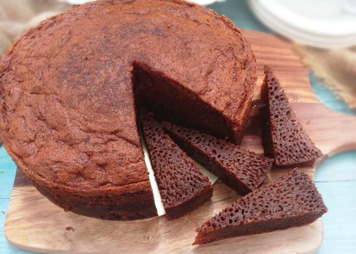 Resipi kek gula hangus paling mudah dan sedap | Sukatan cawan ~ ANNUR SYUHADAH