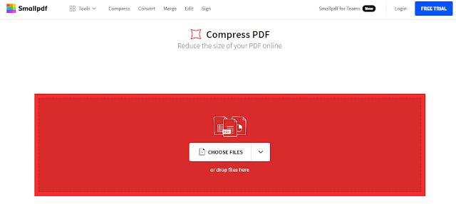 SmallPDF Free Online Convert dan Kompres PDF