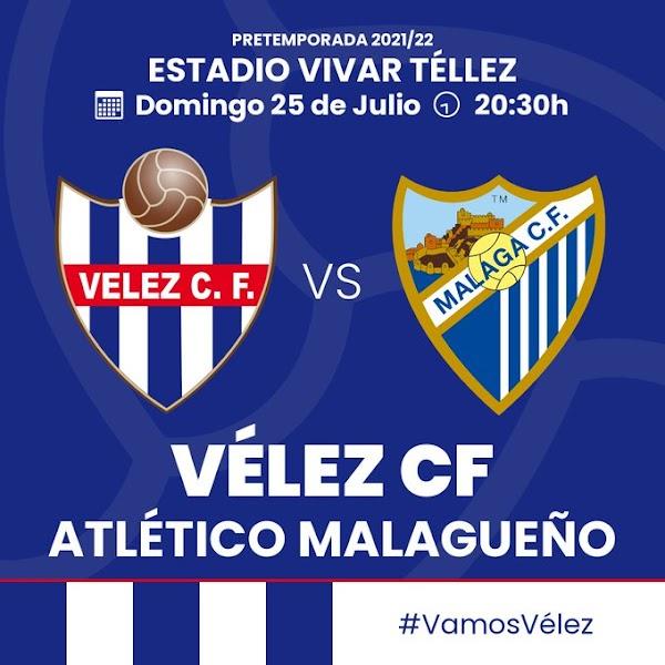 El Atlético Malagueño se medirá al Vélez CF el 25 de julio