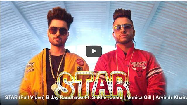 STAR Punjabi Song Lyrics - B Jay Randhawa Ft. Sukhe