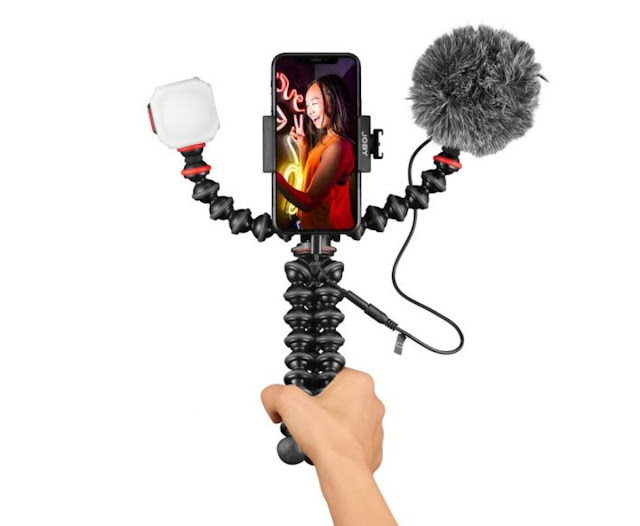 The versatile Joby GorillaPod 3K PRO perfect for Vlogging