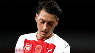 Arsenal's squad did not attend Arsenal's side to face Sheffield United in Sunday's FA Cup with a minor injury.    The 31-year-old attacking midfielder is having a tough season with the Gunners and has yet to play again after the campaign resumed following a coronavirus-suspended suspension.