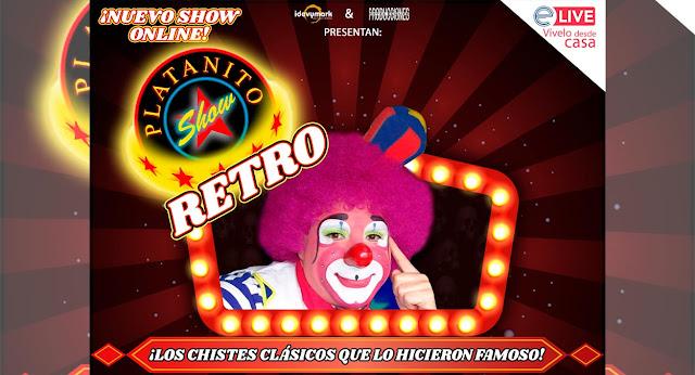 Debido al gran éxito, Platanito Show presentará su tercer show vía streaming