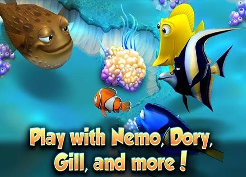 تحميل لعبة نيمو Nemo's Reef للاجهزة اللوحية الحديثة الموبيل والتابلت