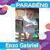 Parabéns hoje especial ao pequeno príncipe Enzo Gabriel 🎉🎊🎂