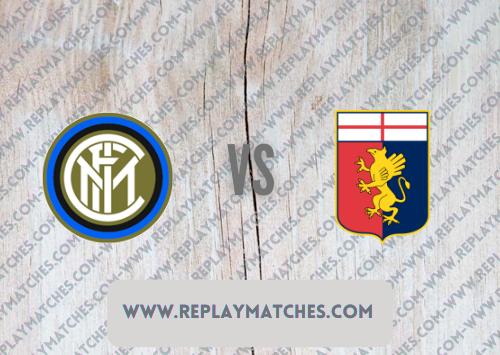 Inter Milan vs Genoa -Highlights 21 August 2021