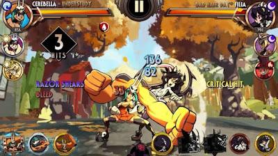 لعبة Skullgirls مهكرة مدفوعة, تحميل APK Skullgirls, لعبة Skullgirls مهكرة جاهزة للاندرويد, Skullgirls apk mod hack
