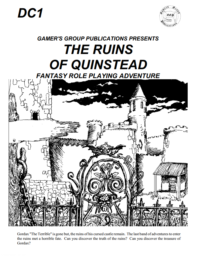 Beyond Fomalhaut: [REVIEW] The Ruins of Quinstead