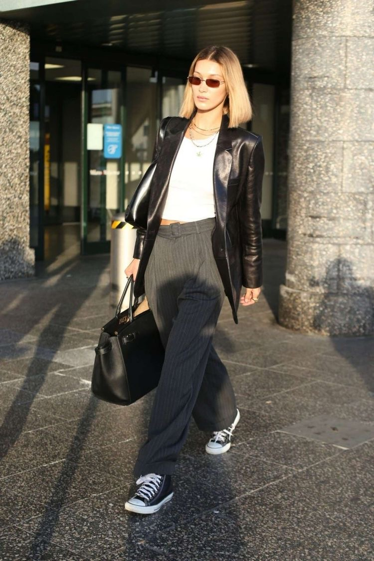 In Fashion | Styling Staple: The Leather Blazer