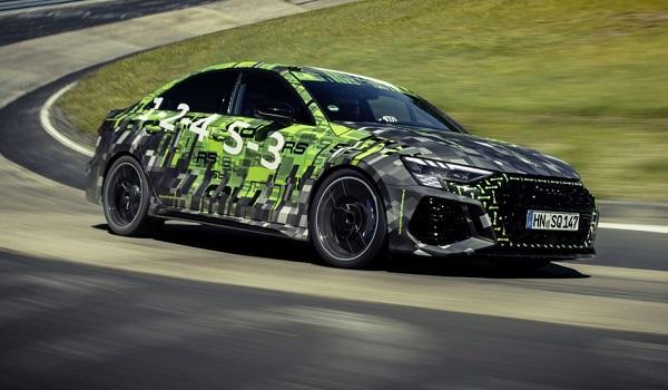 Audi RS 3 récord Nürburgring Nordschleife