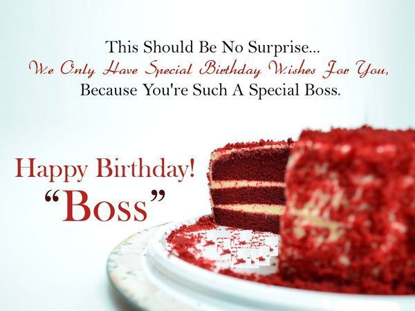 Happy Birthday Wishes for Boss