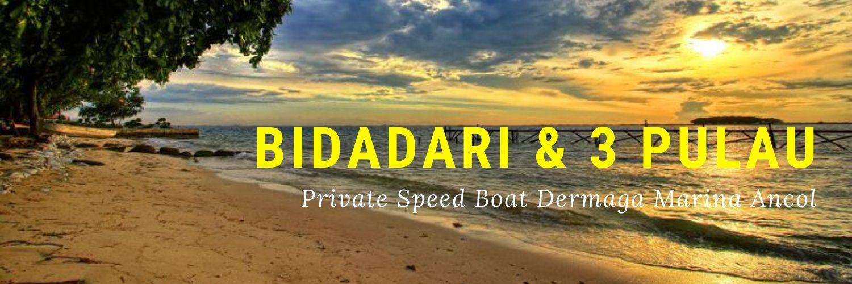 one day trip bidadari resort dan jelajah tiga pulau