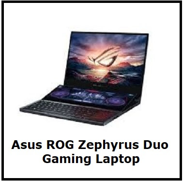 Asus ROG Zephyrus Dual screen Gaming Laptop