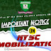 Important Notice from Office of the Dean, Student Affairs Division, IMSU on NYSC Mobilization