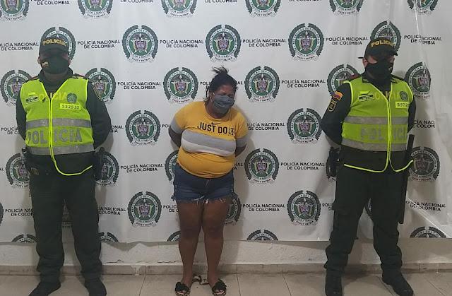 hoyennoticia.com, Capturada mujer que participó en acto de sicariato