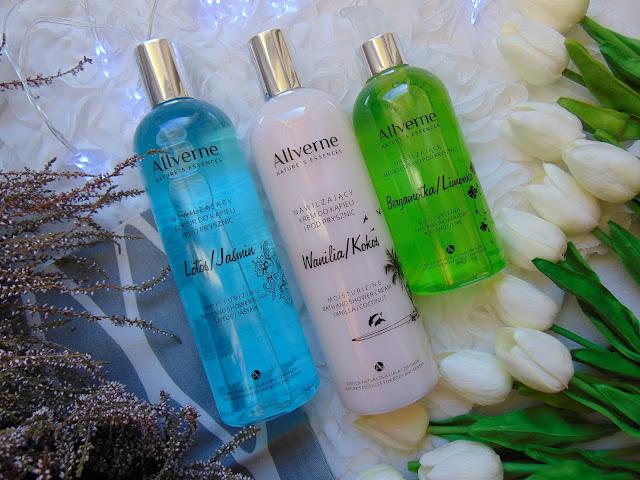 Allverne - Pachnące Płyny do kąpieli i mydlo w płynie