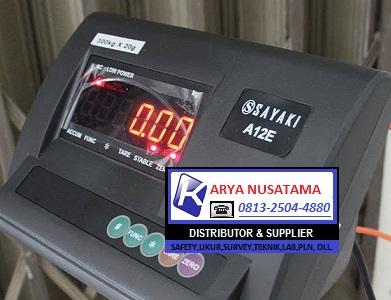 Jual Timbangan Sayaki-sonic  Indikator a12e di Ciputat
