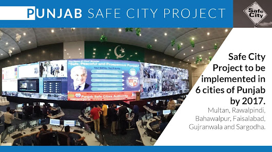 Lahore gets CCTV Cameras under Punjab Safe City Project