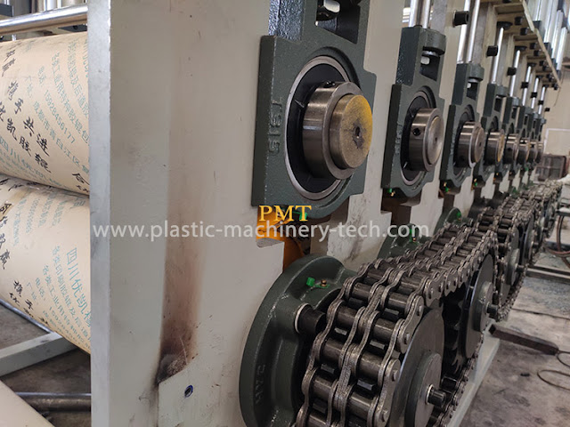 Bamboo fiber integrated wall panel board production equipment