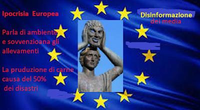 Europa inquinamento carne