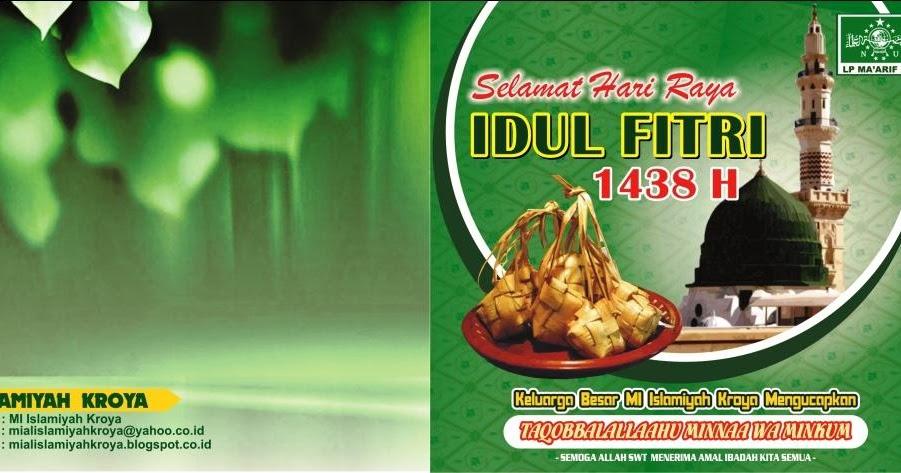Kartu Ucapan Idul Fitri Terbaru cdr | Kumpulan Desain ...