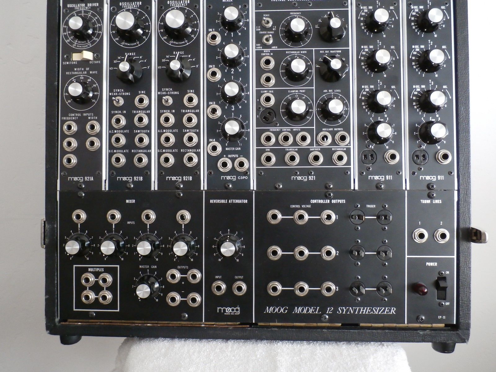 Matrixsynth Moog Modular Model 12 Synthesizer P Cabinet