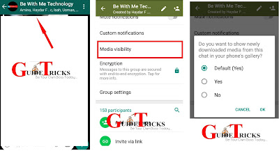 New feature: WhatsApp added Media Visibility to all users