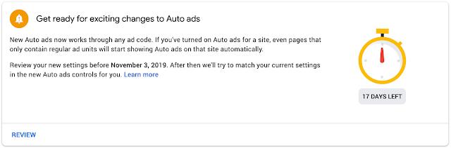 Iklan otomatis terbaru dari adsense