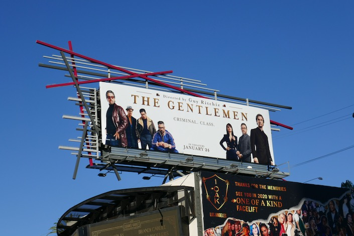 Gentlemen movie billboard