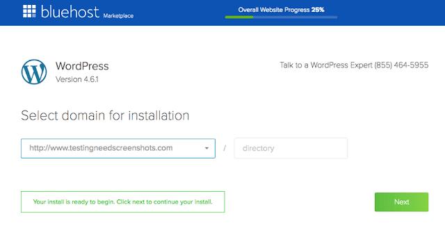 wordpress instal