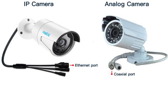CCTV VS IP Camera