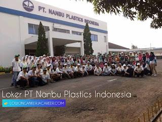 Lowongan Kerja PT Nanbu Plastics Indonesia Terbaru 2020 Kawasan MM2100