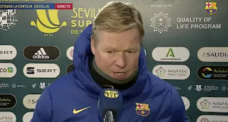 'I don't think this is step backwards. There were things I liked': Koeman refuse to criticize Barca performance