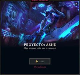 skin proyecto: Ashe