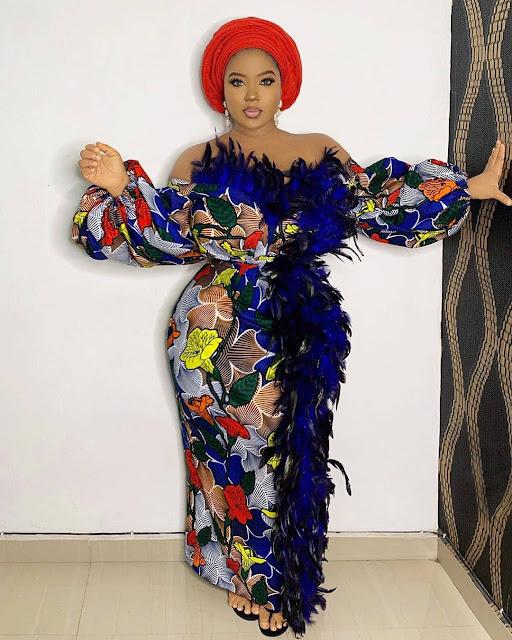 The 20 Best of Owambe Aso Ebi Dresses 19