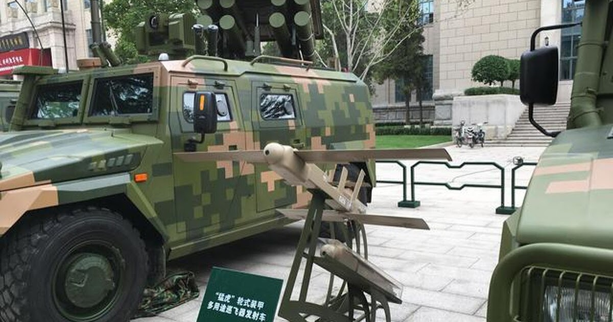 This Chinese Armored Vehicle Can Launch A Swarm of Killer Drones - World  War Defence