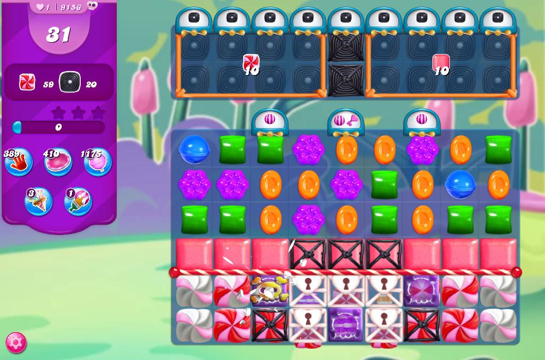 Candy Crush Saga level 9156