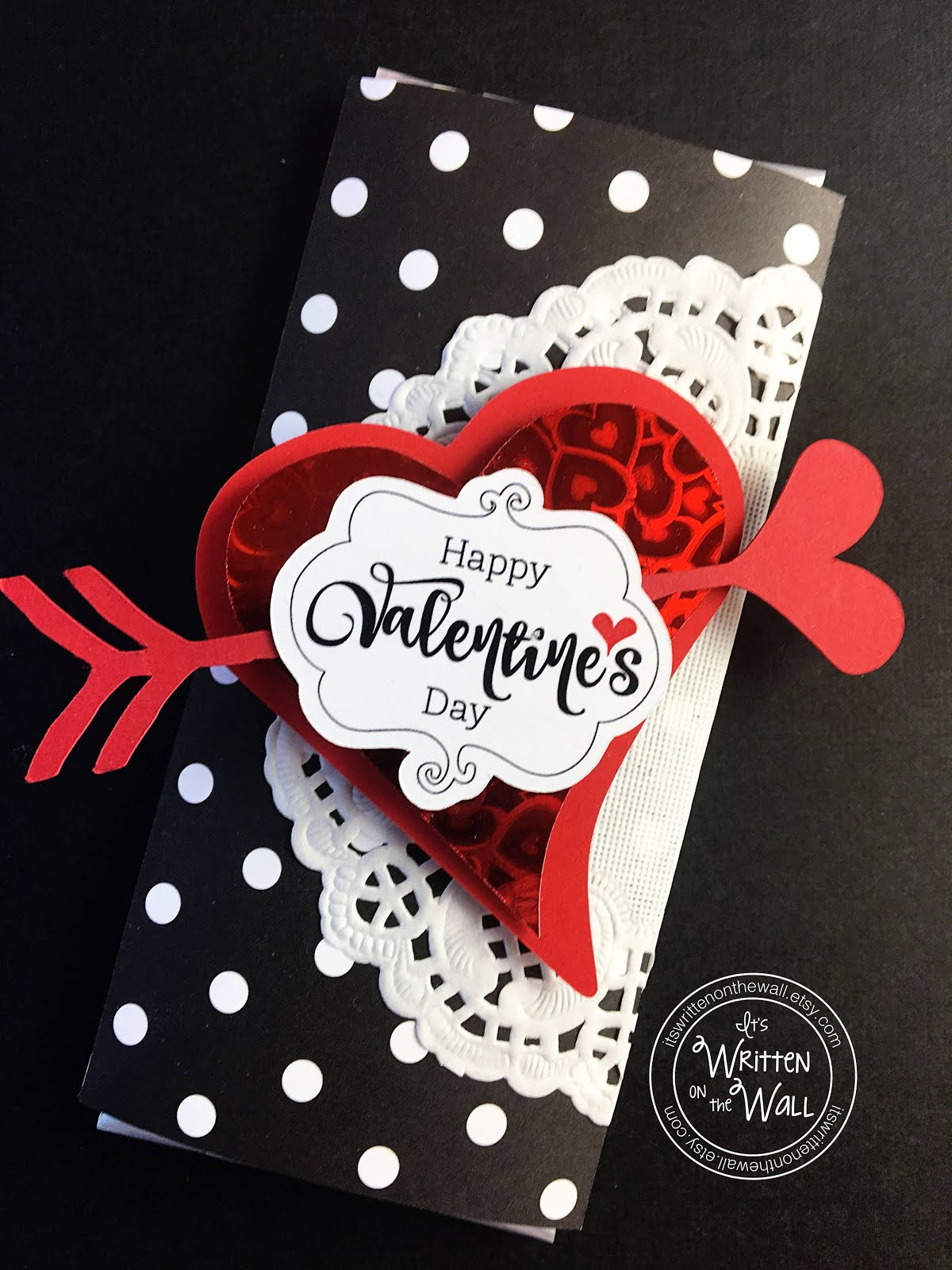 Valentine Hershey Candy Bar Wrappers