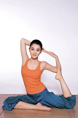 chinese actress yoga