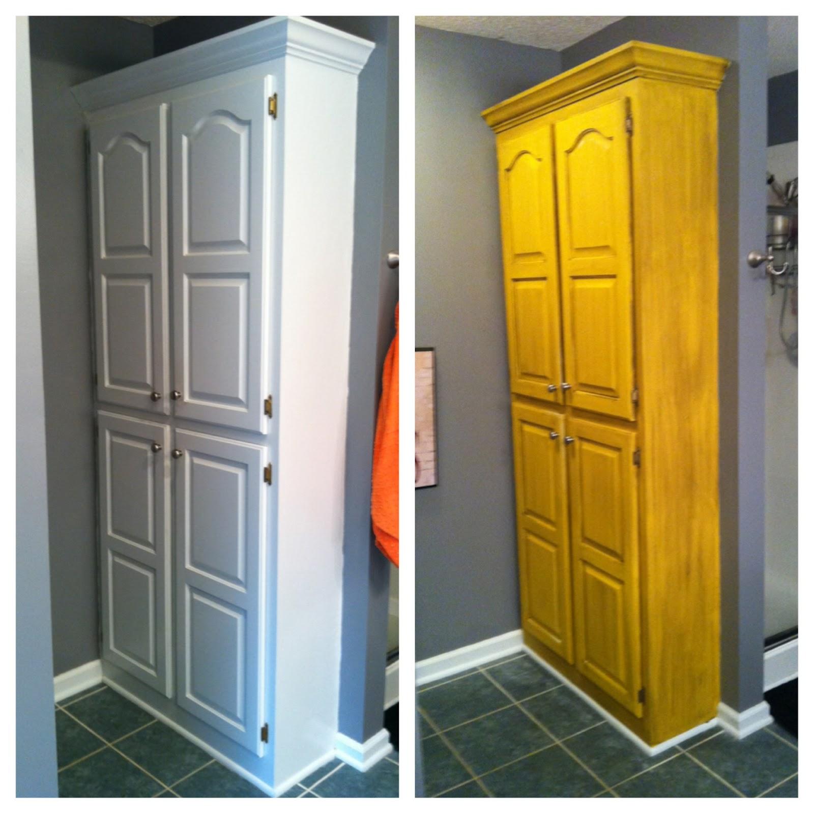 Bathroom Cabinets Little Rock Ar: My Life As Mrs. McMurry: A Little Weekend DIY.... Bathroom