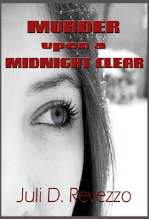 Murder Upon a Midnight Clear by Juli D. Revezzo, paranromal mystery, Christmas romance, pagan paranormal romance, read free with Kindle Unlimited