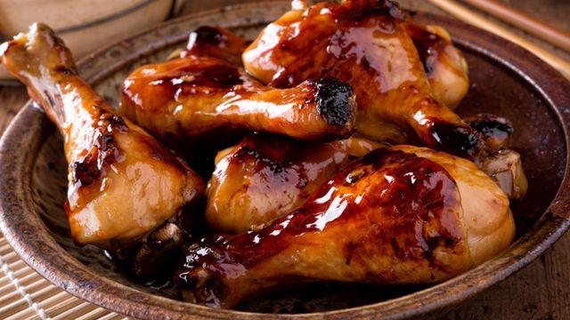 دجاج بالصويا صوص
