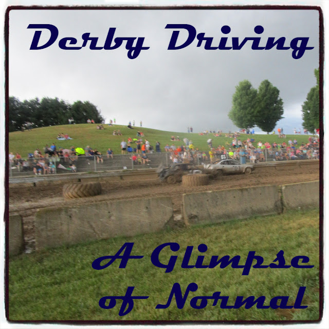 Derby Driving from A Glimpse of Normal