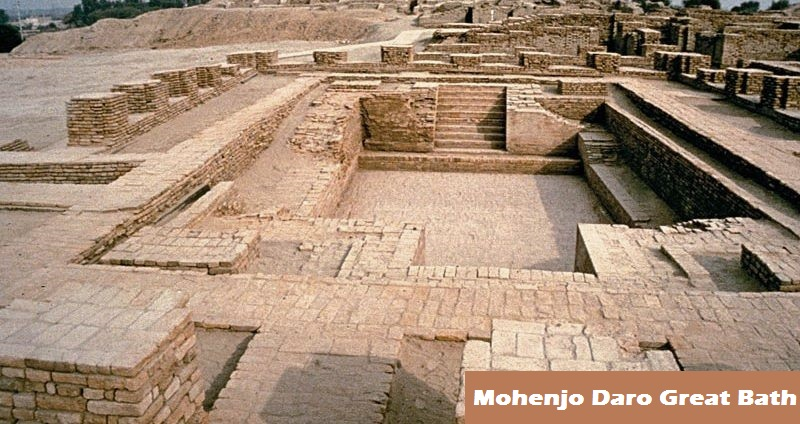 Great Bath - Mohenjo Daro Great Bath