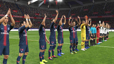 PES 2019 Stadium Parc des Princes by Bouquenom