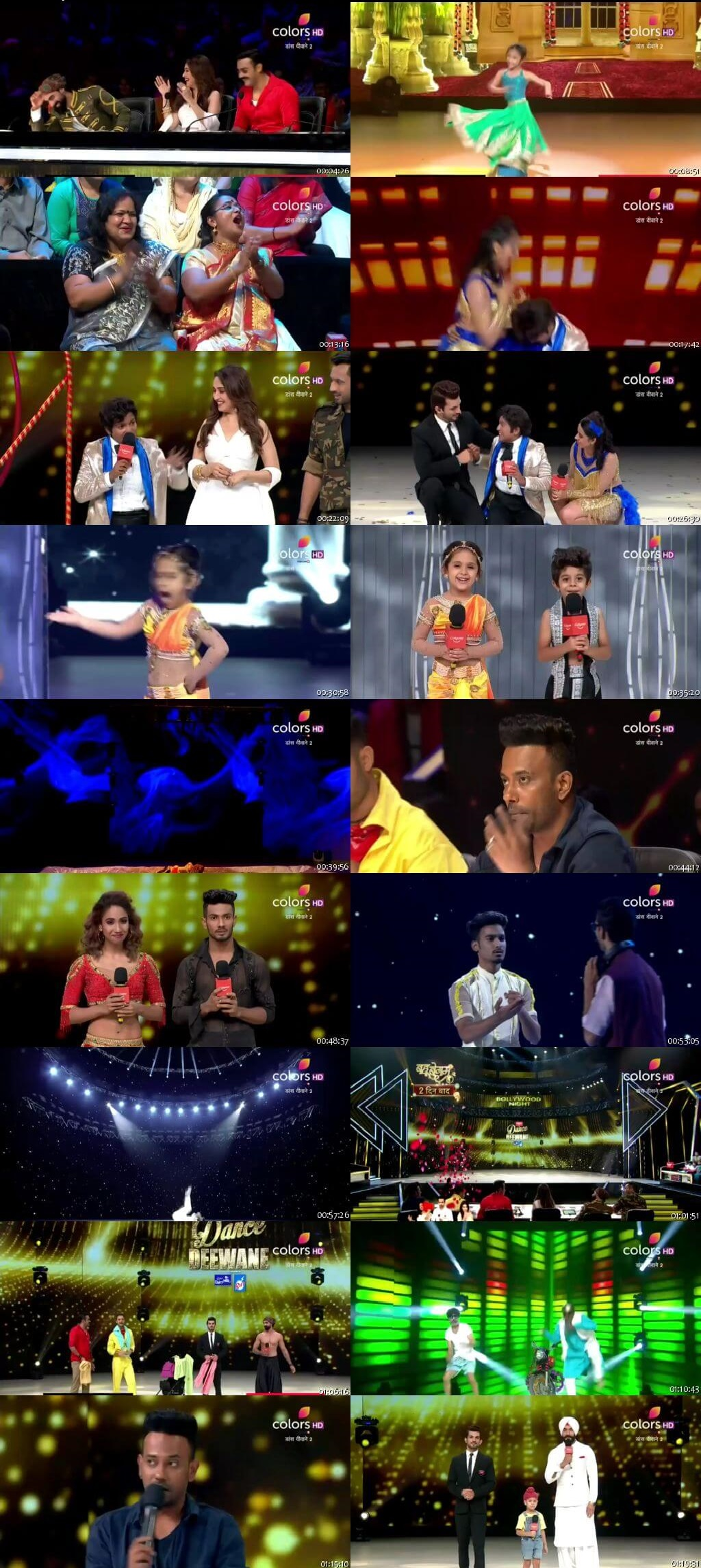 Screenshots Of Hindi Show Dance Deewane 2 13th July 2019 Episode 09 300MB 480P HD